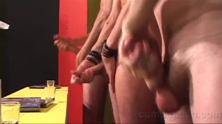 3 studs masturbating in contest