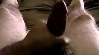 tom shows off his unique stroking technique