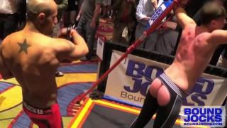 leo flogging his boy's back
