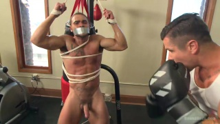 creepy handyman and the gym stud