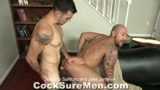 Jordano Santoro and Jake Jammer at Cocksure Men