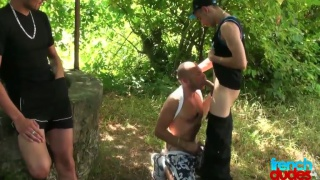 out in the forest for gay sex cruising