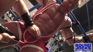 Dirk Caber Teases Bound Derek Pain