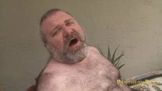 Big daddy bear lance wolfe beating off