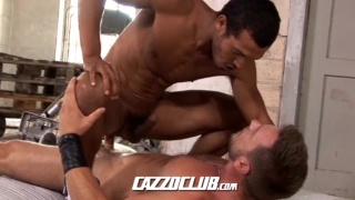 spanish bottom takes fat fuck tool