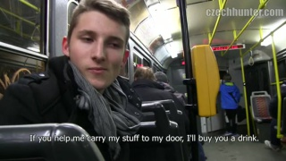 picking up a czech guy on tram