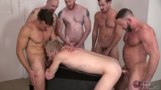 spit roast fucking hung blond bottom