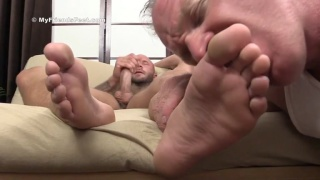 worshipping a size 11 pair of feet