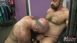 bald bearded daddy blowing brad kalvo