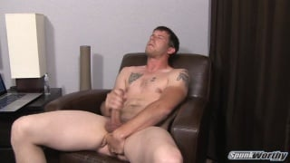 gene masturbating and playing with his ass