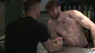 paul wagner's debut scene at MEN.com