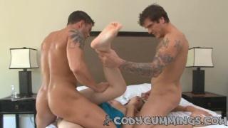 Cody Cumming's bi threeway