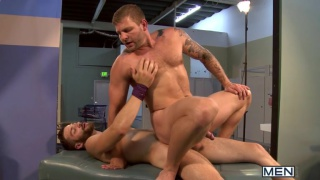 Colby Jansen's First Time Bottoming