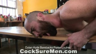 Sexy Dylan Hyde and bearded cub Porter Loutrec