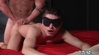 hairy brute fucks johnny rapid's tiny butt