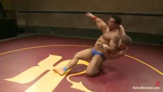 Doug Acre Fucks Marcus Ruhl on Wrestling Mats