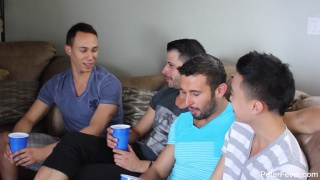 studs throw a bachelor party