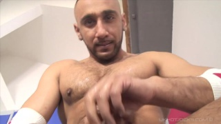 half Pakistani half Arab jacking off