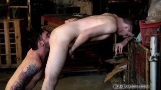 adam fucks edwin in a warehouse