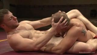 naked wrestlers eli hunter and doug acre