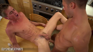 levi loves going balls deep with his huge cock