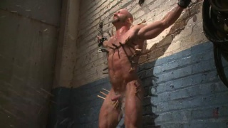 bald hunk tatum in the dungeon