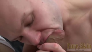 gabe sucks gizzy's thick hooded meat