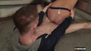 chained to urinals and fucked