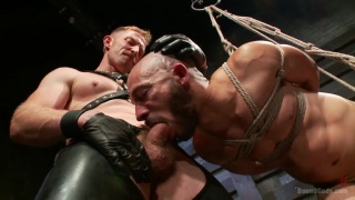 dylan strokes in adam herst's dungeon