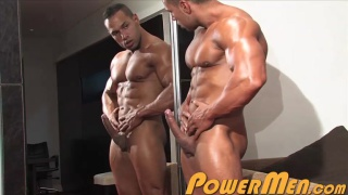 big-dicked muscle man Cosmo Babu