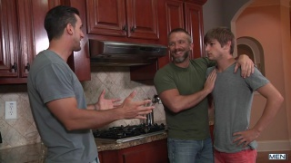johnny rapid threeway with dirk caber and phenix saint