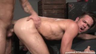 Shawn Wolfe fucks Mike De Marko's furry ass