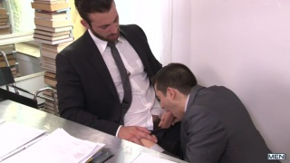 jarec wentworth fucks jacob ladder in his office