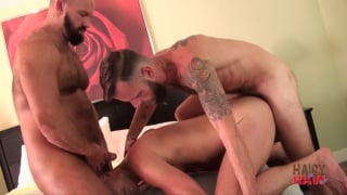 Blake Bradley and Troy Webb bare fuck bone flexx