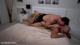 guy in glasses fucks austin wilde's ass