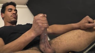 Ben bailey strokes his 8 inches