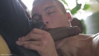 hung dominican stretches white lad's hole