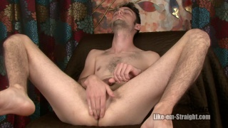 skinny furry dude masturbating