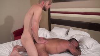 Alessio Romero rides Logan Stevens cock