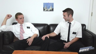 2 mormons get to know each other inside and out