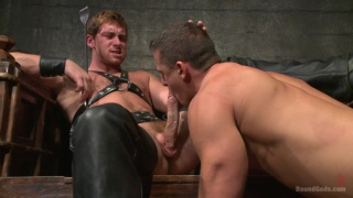 Dom Connor Maguire breaks in a new boy ivan gregory