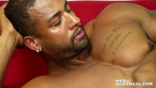 big beefy black hunk Dustin Dewind