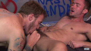 Christian Wilde fucks Colt Rivers's hot butt