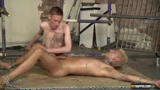 mickey taylor tied up and cock edged