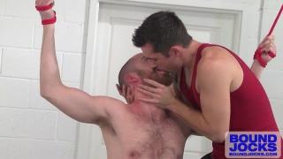 jock uses a bound furball