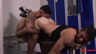 Alessandro Del Toro plays with Craig Daniel's ass