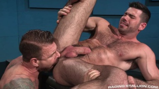 Billy Santoro bottoms for rocco steele
