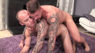 Cam Christou bottoms for Rocco Steele