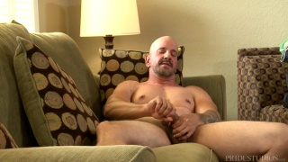 sexy bald daddy jay armstrong returns to porn