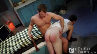 Brian Bonds spanks Jerek Miles